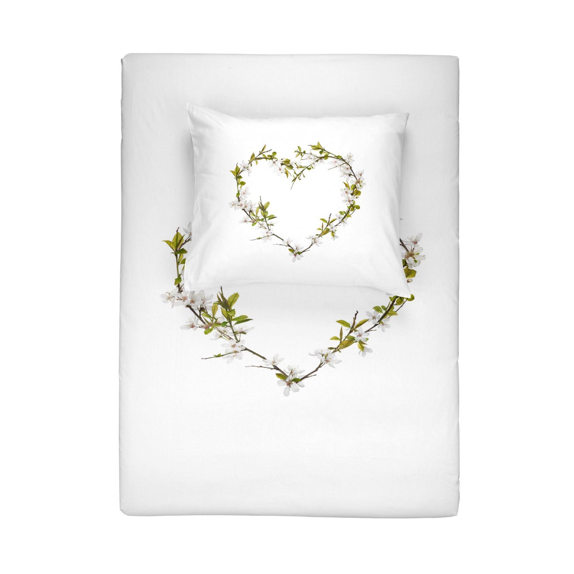 Dekbedovertrek Walra Blossom Wit 140x220 cm 1-persoons dekbedovertrek