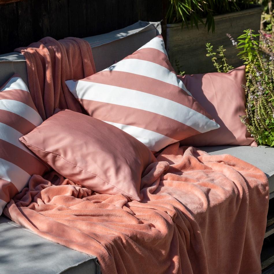 SANZENO - Sierkussen outdoor Muted Clay 45x45 cm