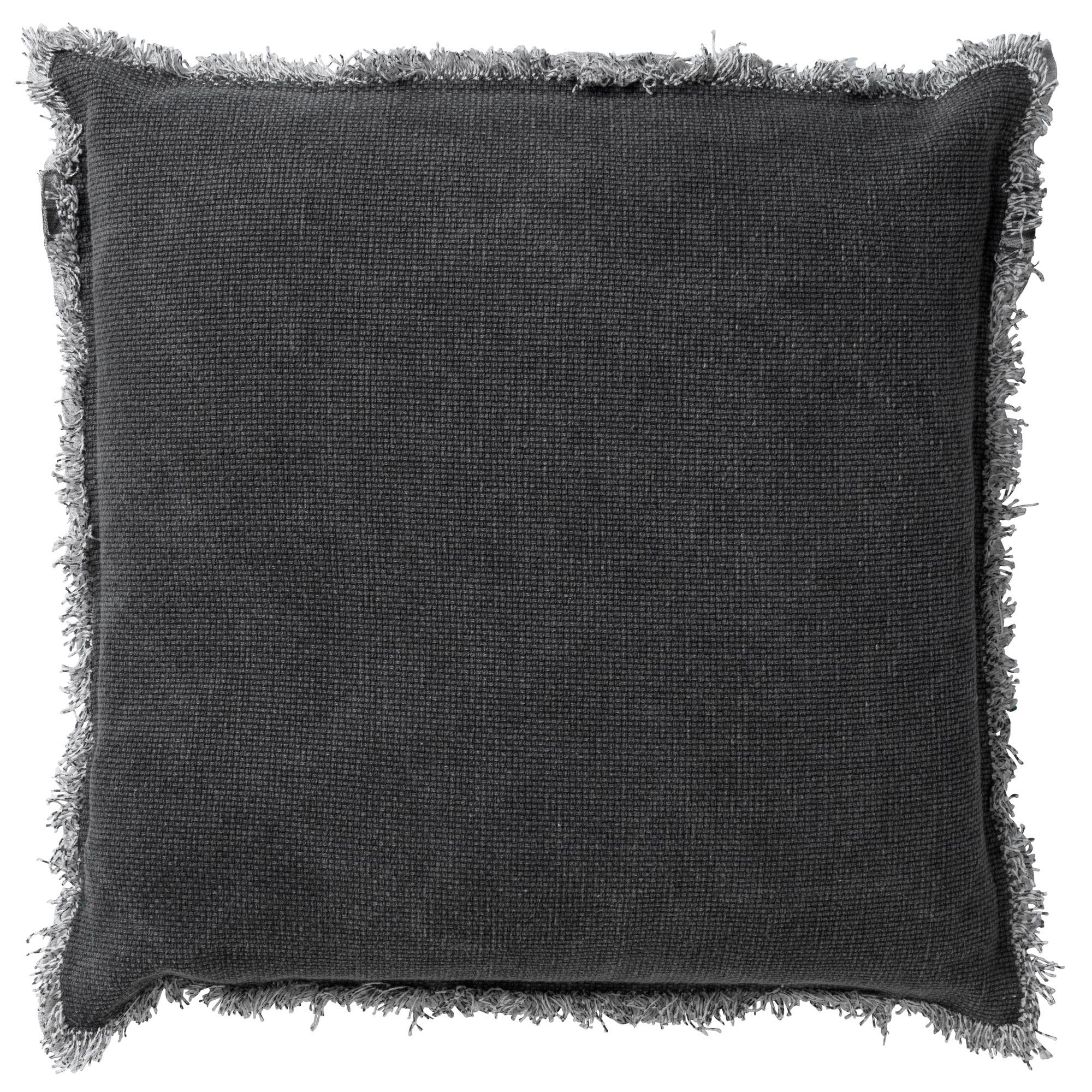 BURTO - Sierkussen van katoen Charcoal Grey 45x45 cm