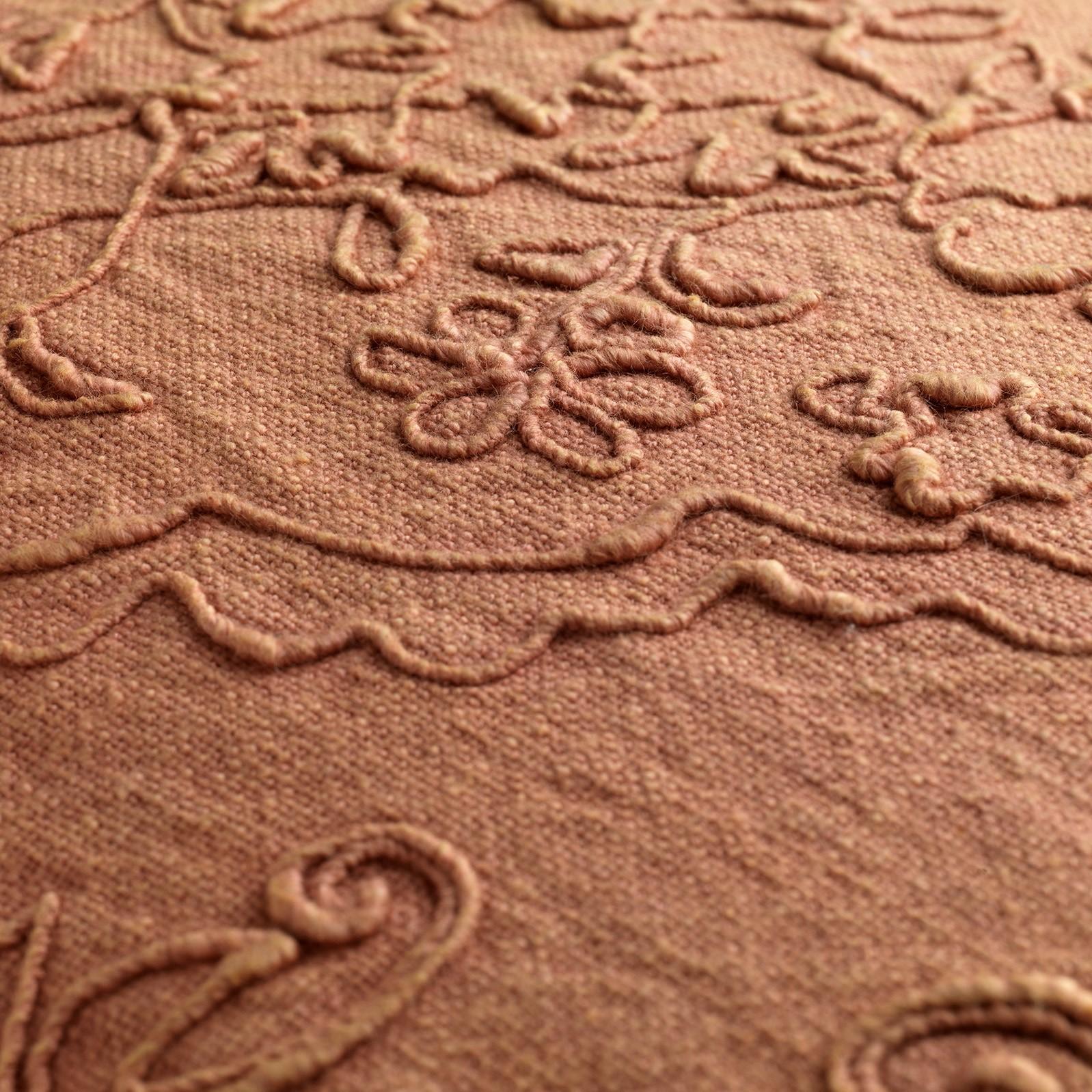 EVY - Sierkussen van katoen Muted Clay 40x60 cm