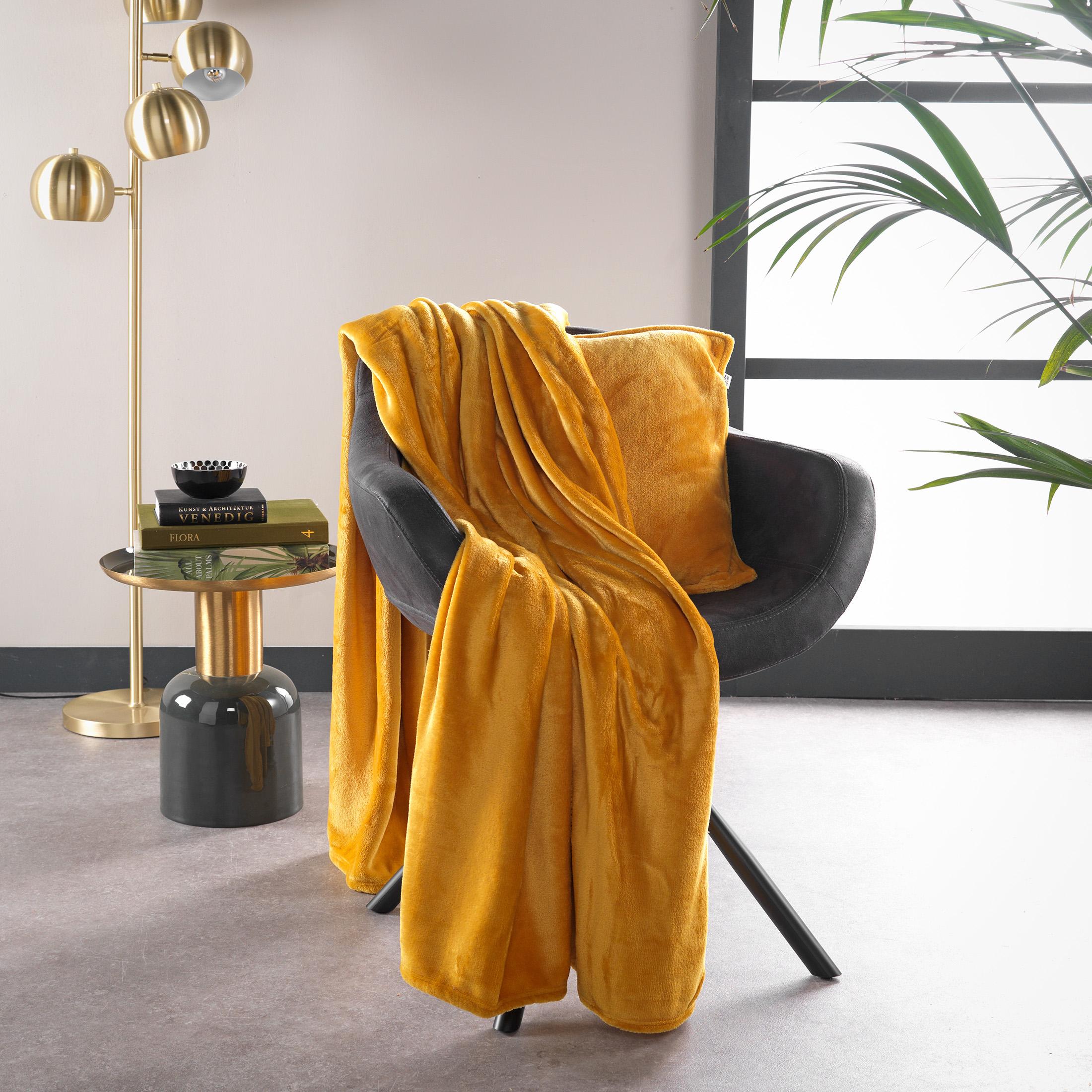 BILLY - Plaid Golden Glow 150x200 cm