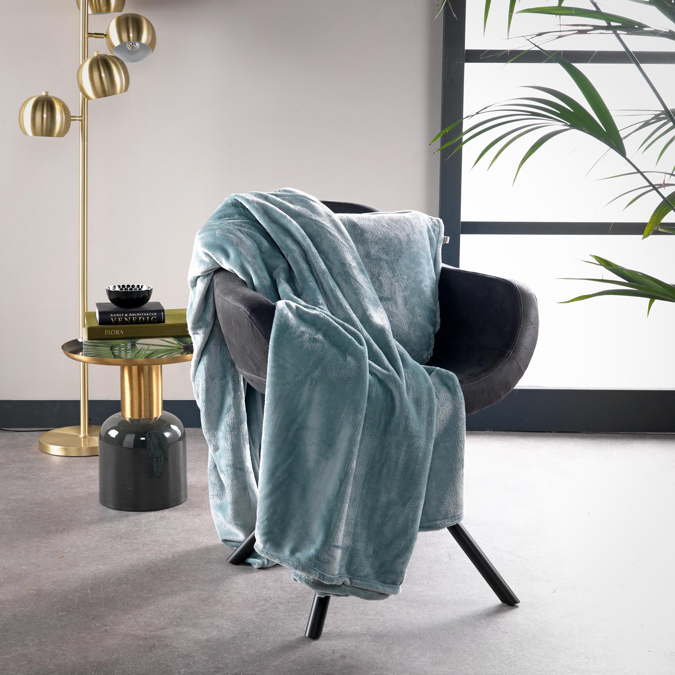 BILLY - Plaid Jadeite 150x200 cm