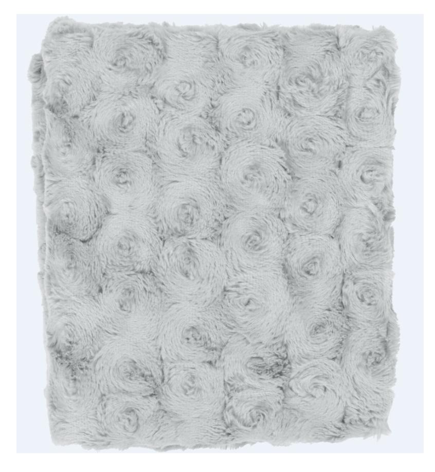 LUGGA - Plaid mist 130x180 cm
