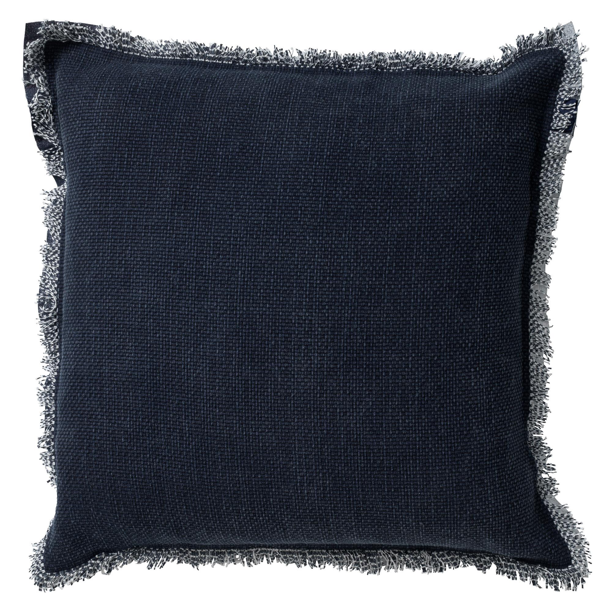 BURTO - Sierkussen van katoen Insignia Blue 45x45 cm