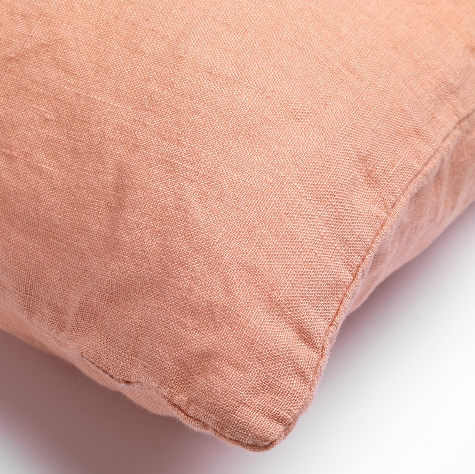 LINN - Sierkussen linnen Muted Clay 45x45 cm