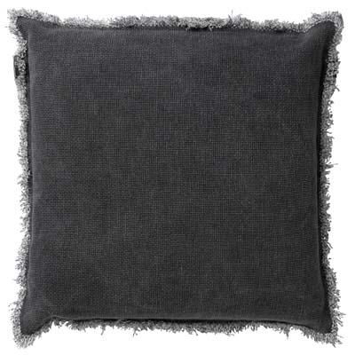 BURTO - Sierkussen van katoen Charcoal Grey 60x60 cm