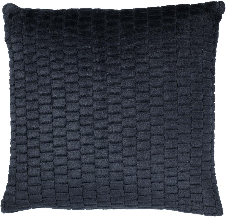MAYKE - Sierkussen donkerblauw 45x45 cm
