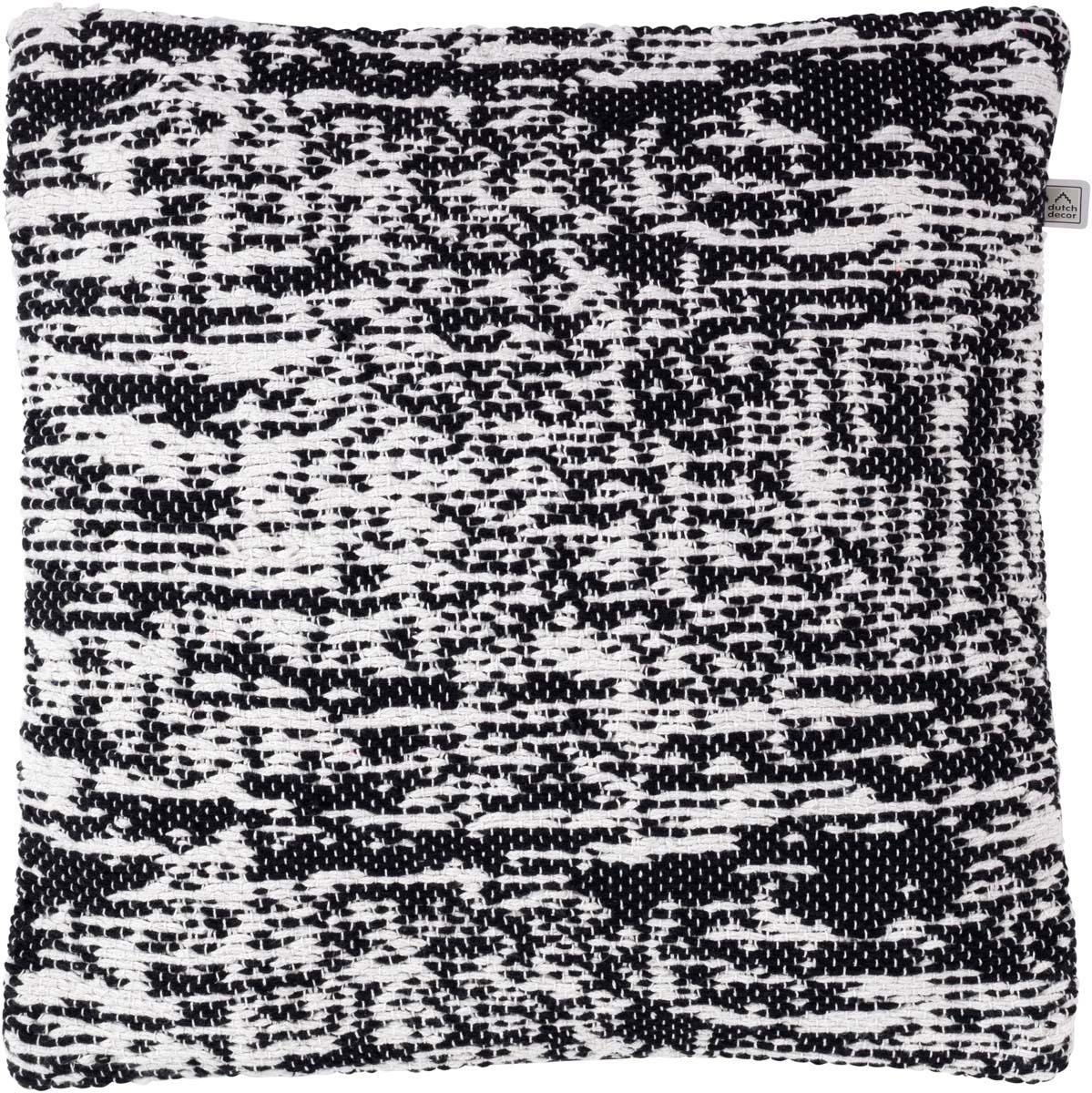 ARVIKA - Sierkussen zwart 45x45 cm