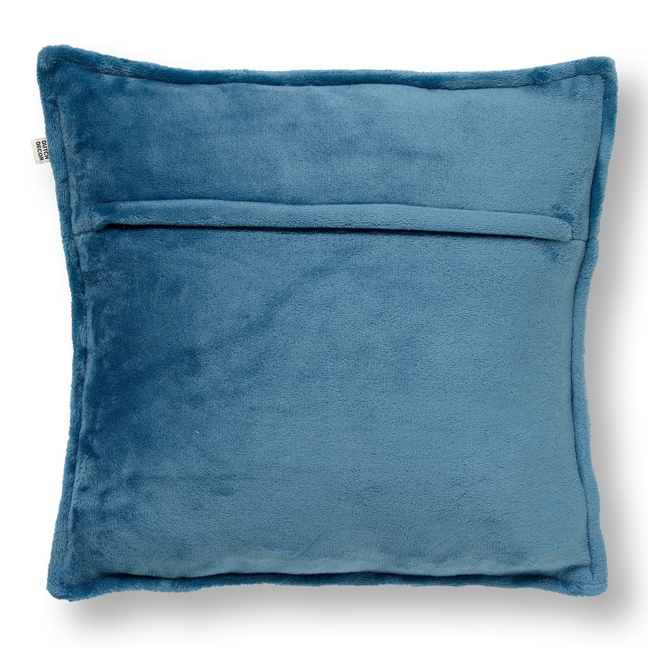CILLY - Kussenhoes van fleece Provincial Blue 45x45 cm