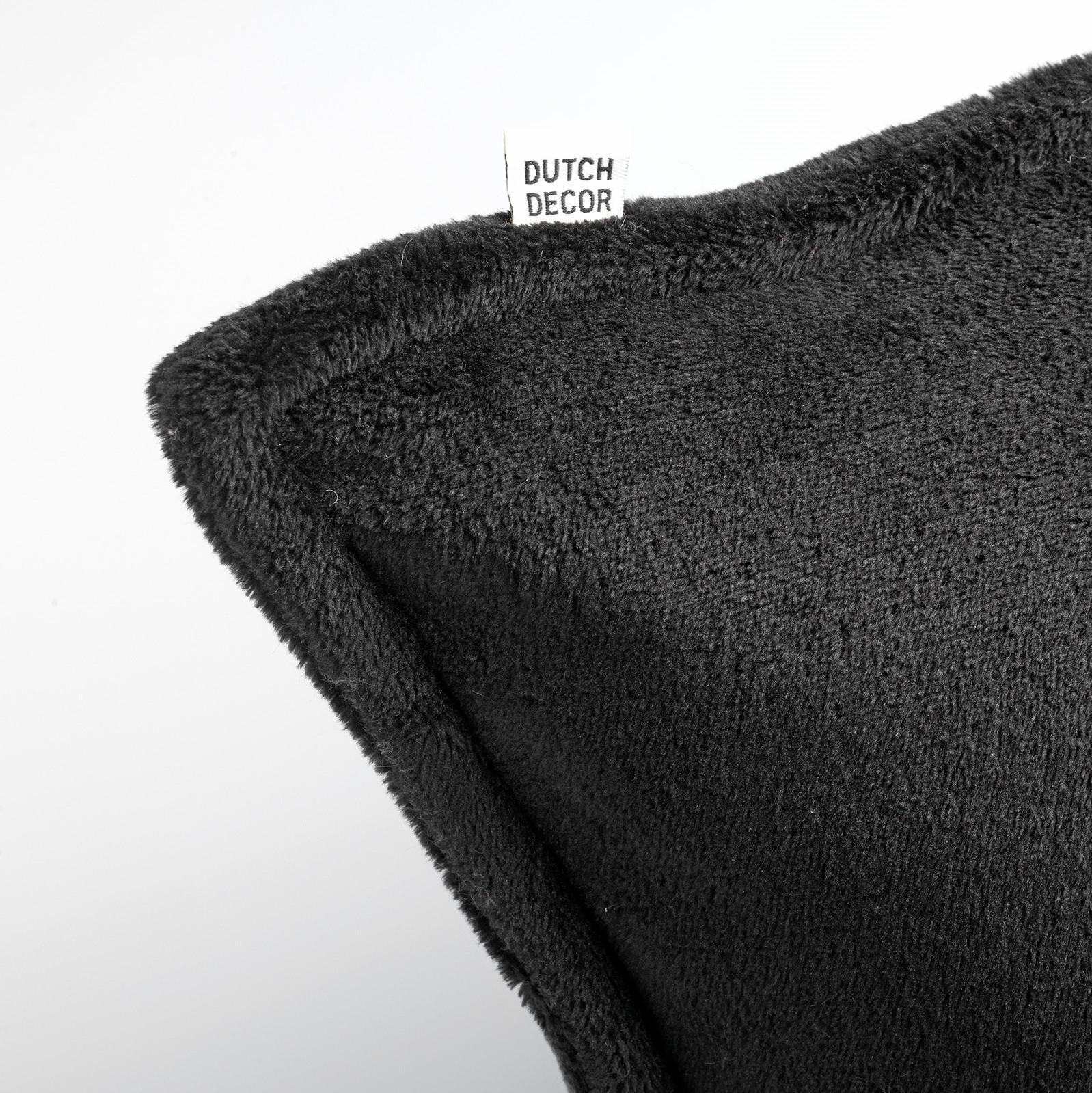 CILLY - Sierkussen van fleece Raven 45x45 cm