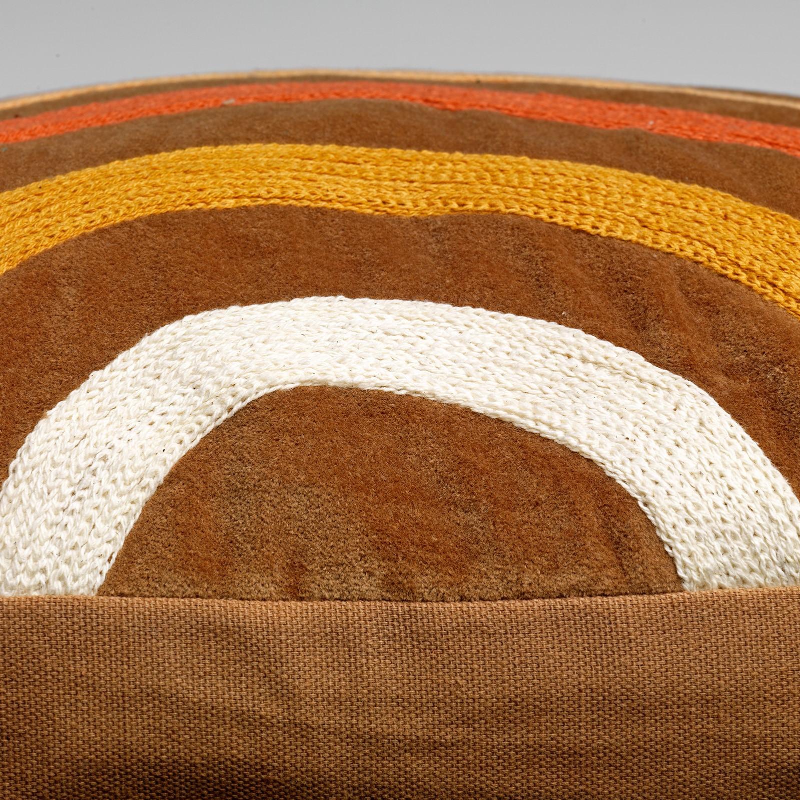RODY - Sierkussen velvet Tobacco Brown 45x45 cm