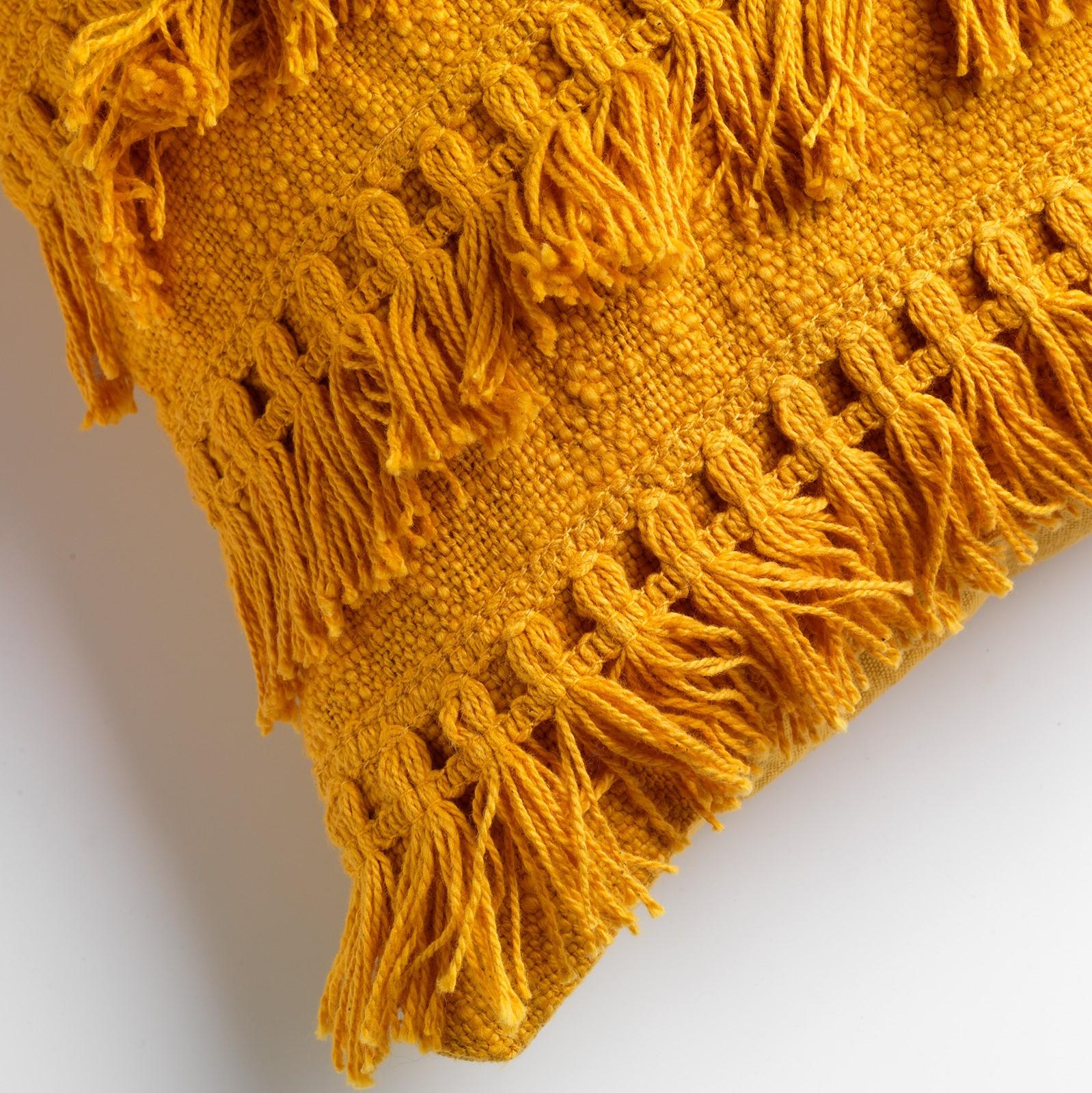 FARA - Sierkussen van katoen Golden Glow 40x60 cm