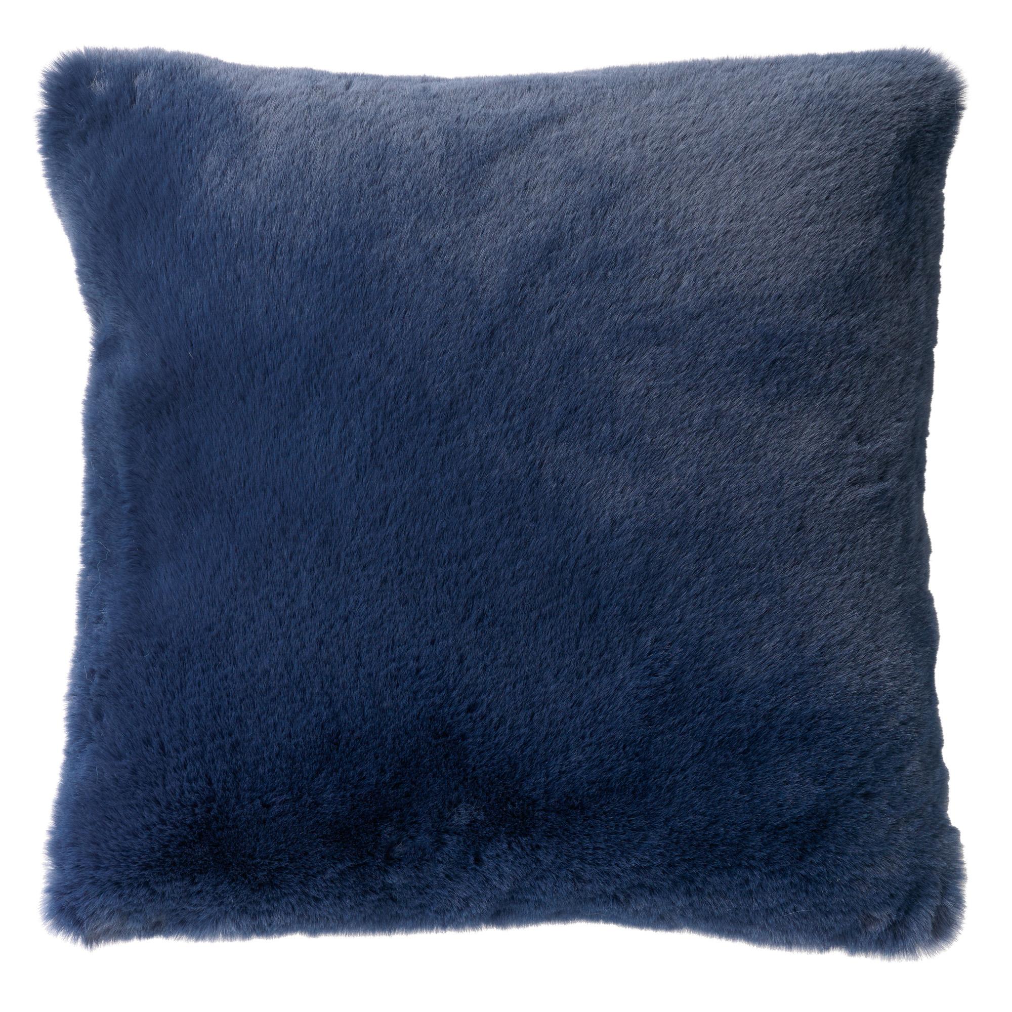 ZAYA - Sierkussen unikleur 60x60 cm Insignia Blue