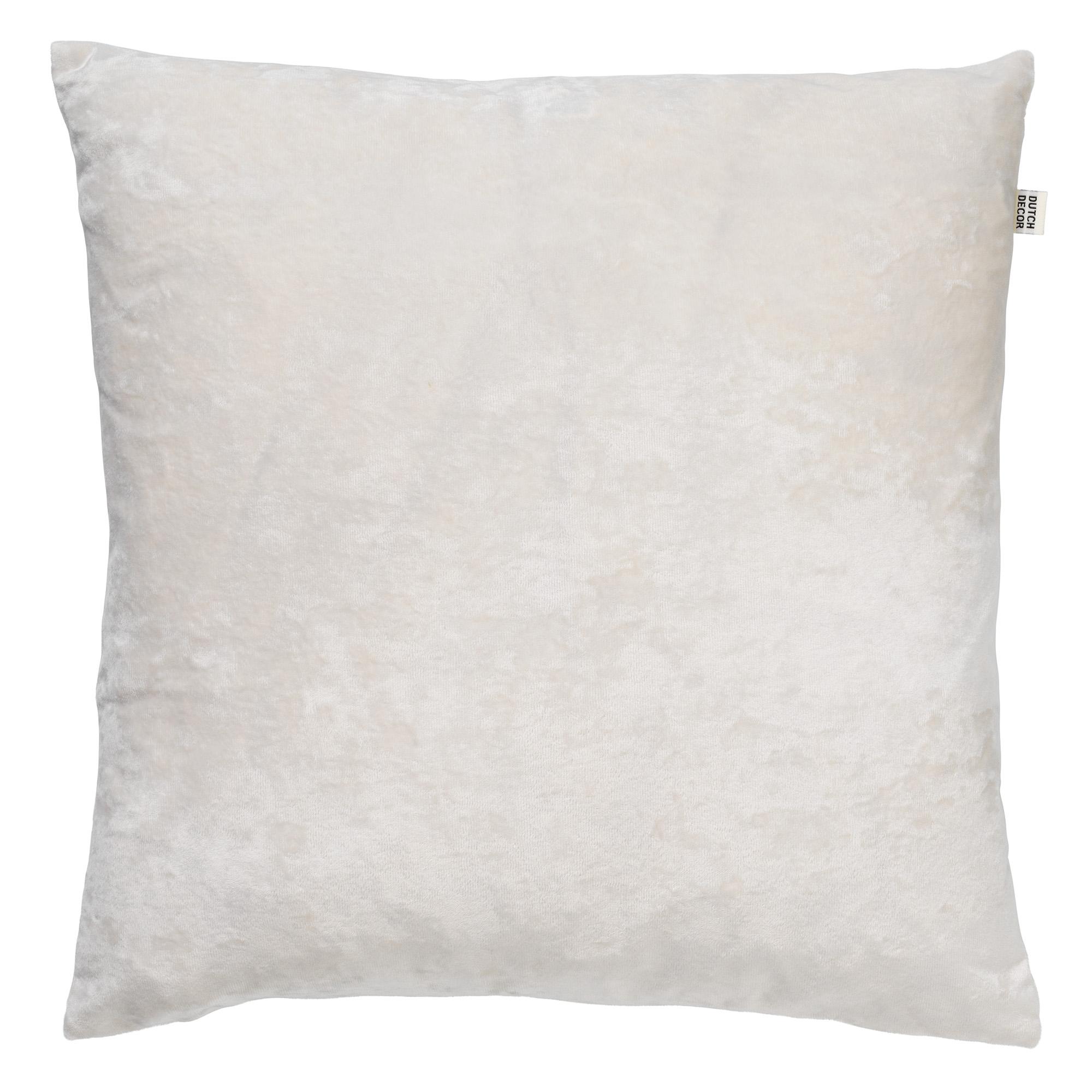 SKY - Sierkussen velvet Snow White 45x45 cm