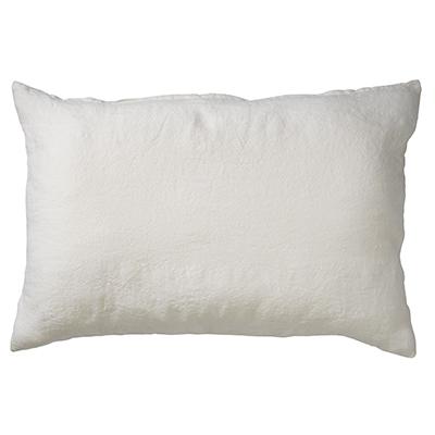LINN - Sierkussen linnen Snow White 40x60 cm