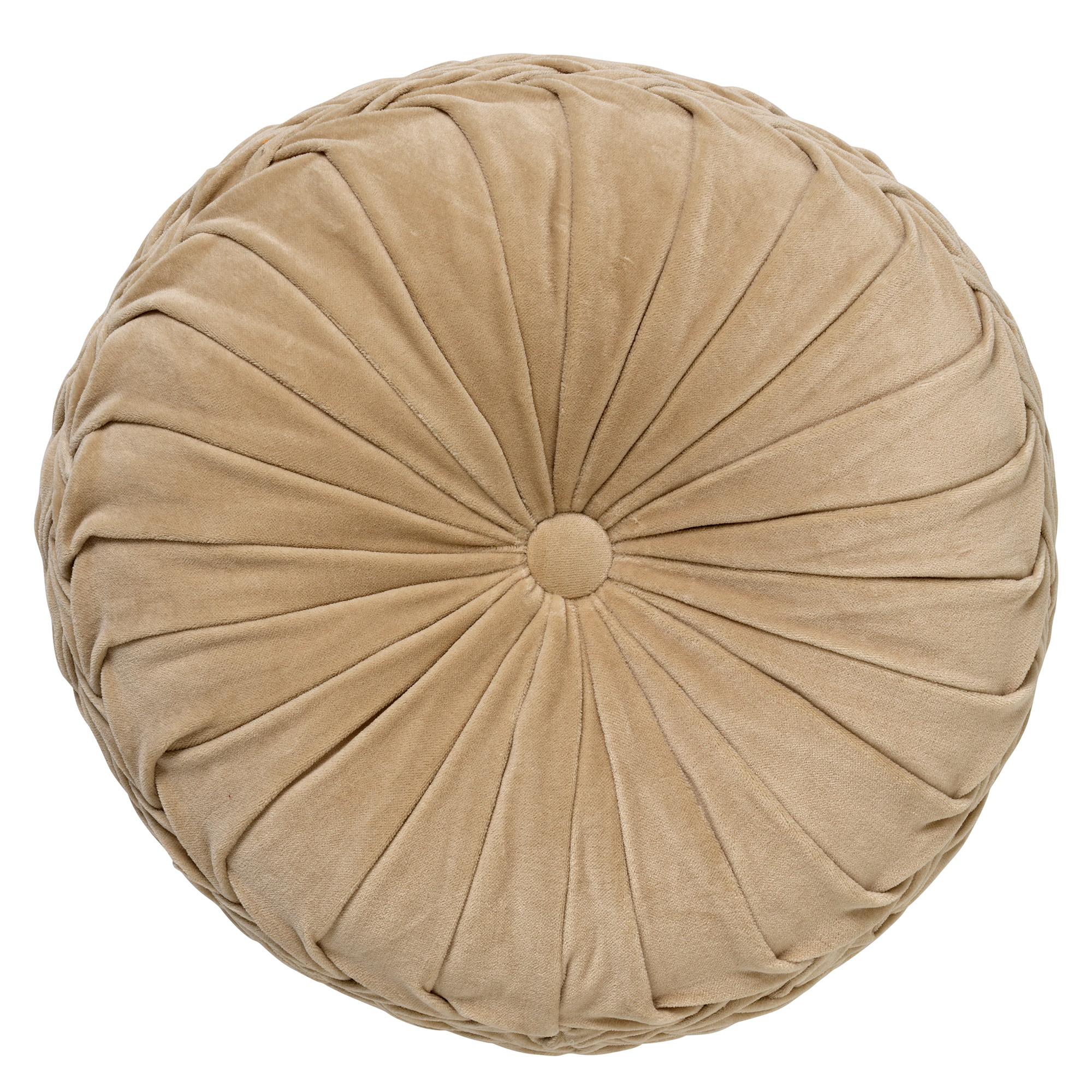 KAJA - Sierkussen rond velvet Pumice Stone 40 cm