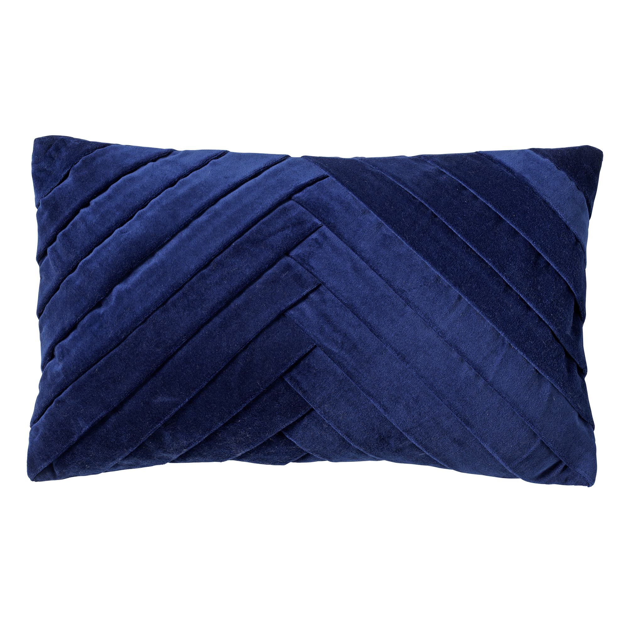 FEMM - Kussenhoes velvet 30x50 cm Insignia Blue