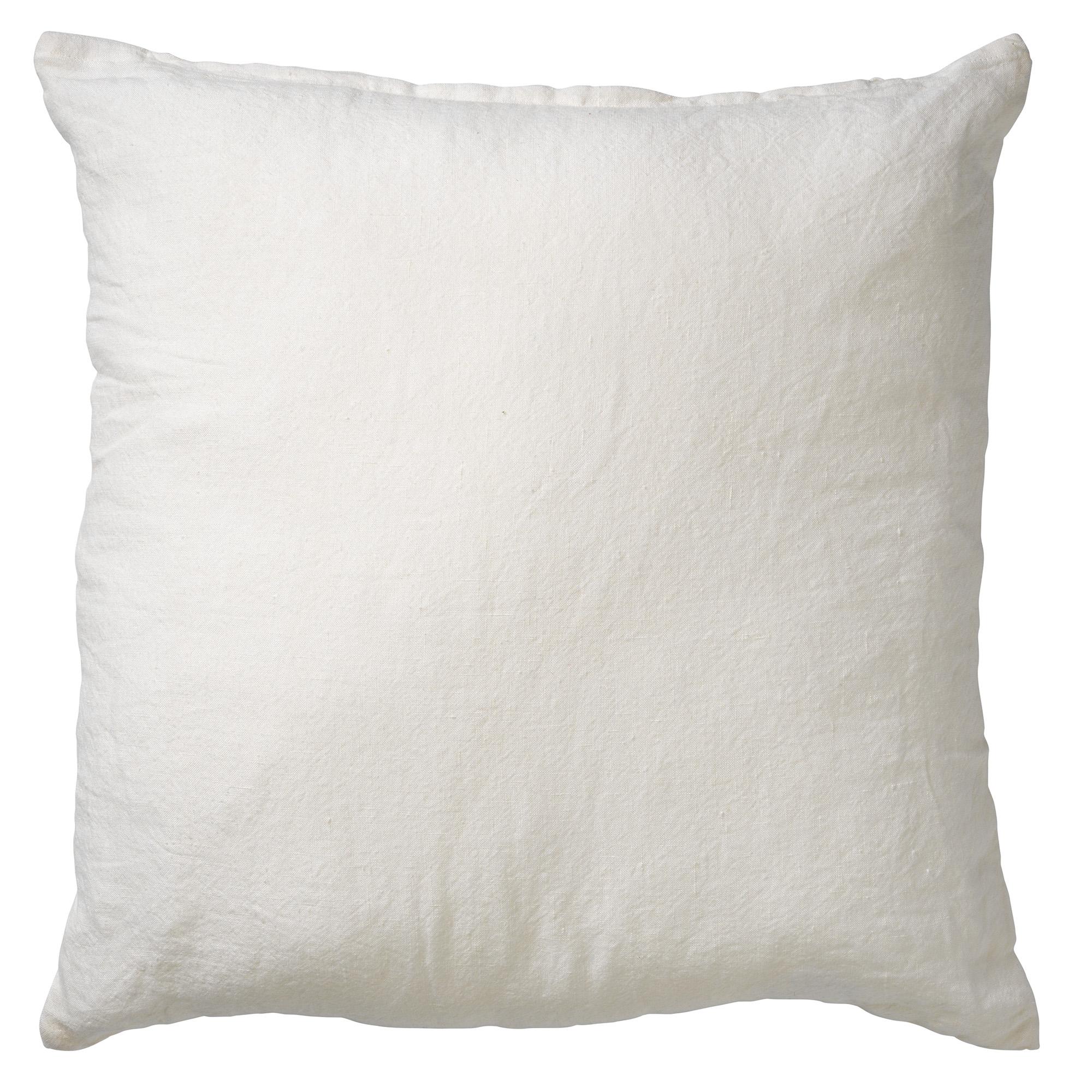 LINN - Sierkussen linnen Snow White 45x45 cm
