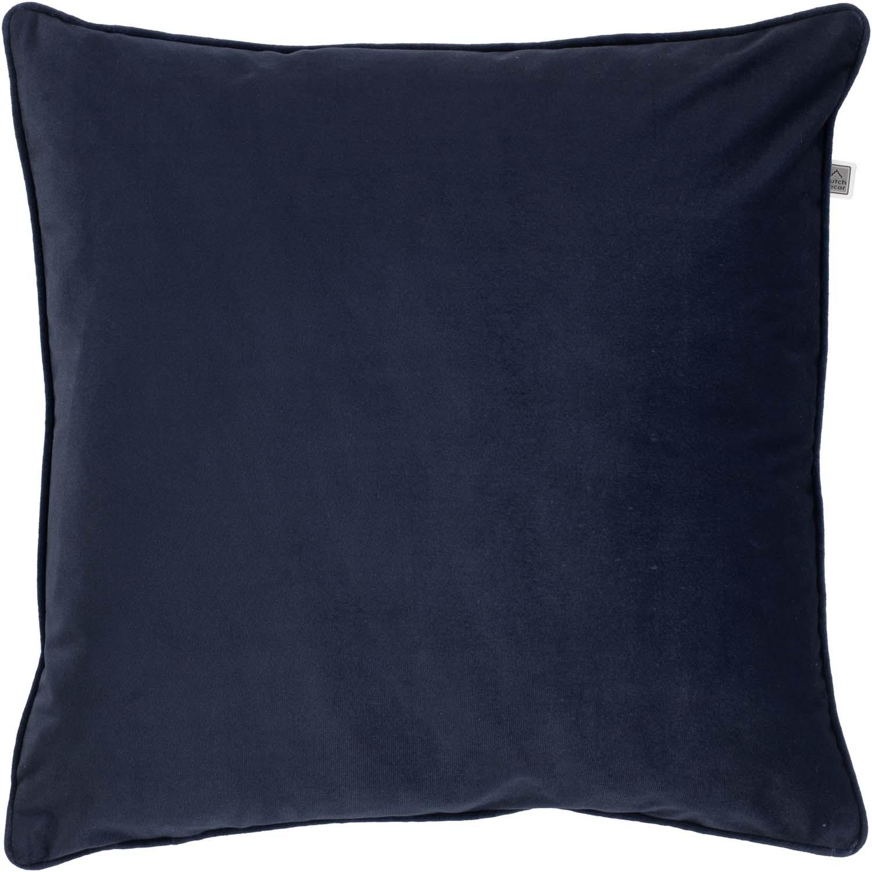 FINN - Sierkussen velvet Insignia Blue 70x70 cm