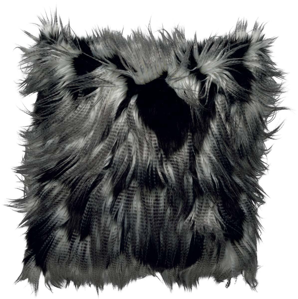 JIMM - Sierkussen zwart 45x45 cm