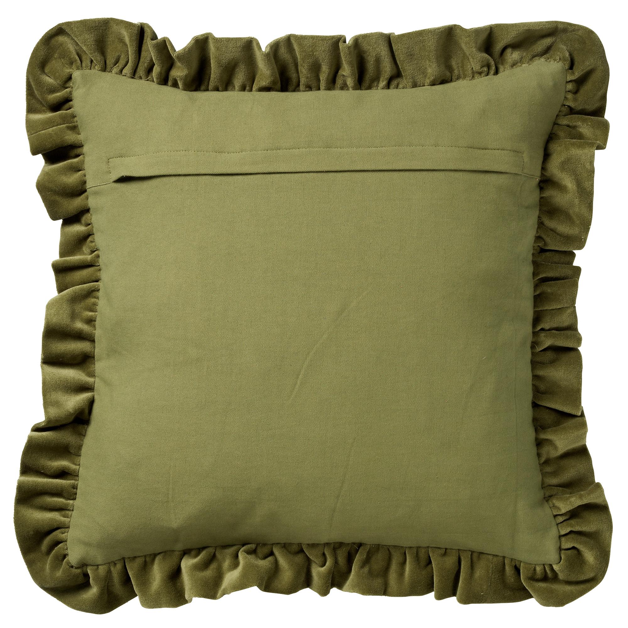 YARA - Kussenhoes velvet Calliste Green 45x45 cm