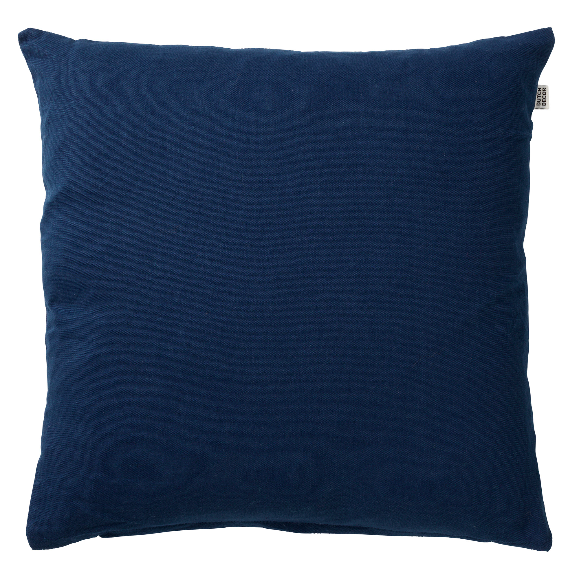 JAMES - Sierkussen van katoen Insignia Blue 45x45 cm