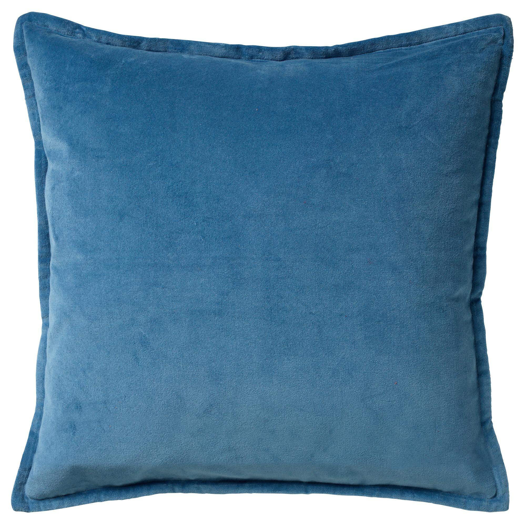 CAITH - Sierkussen velvet Provincial Blue 50x50 cm