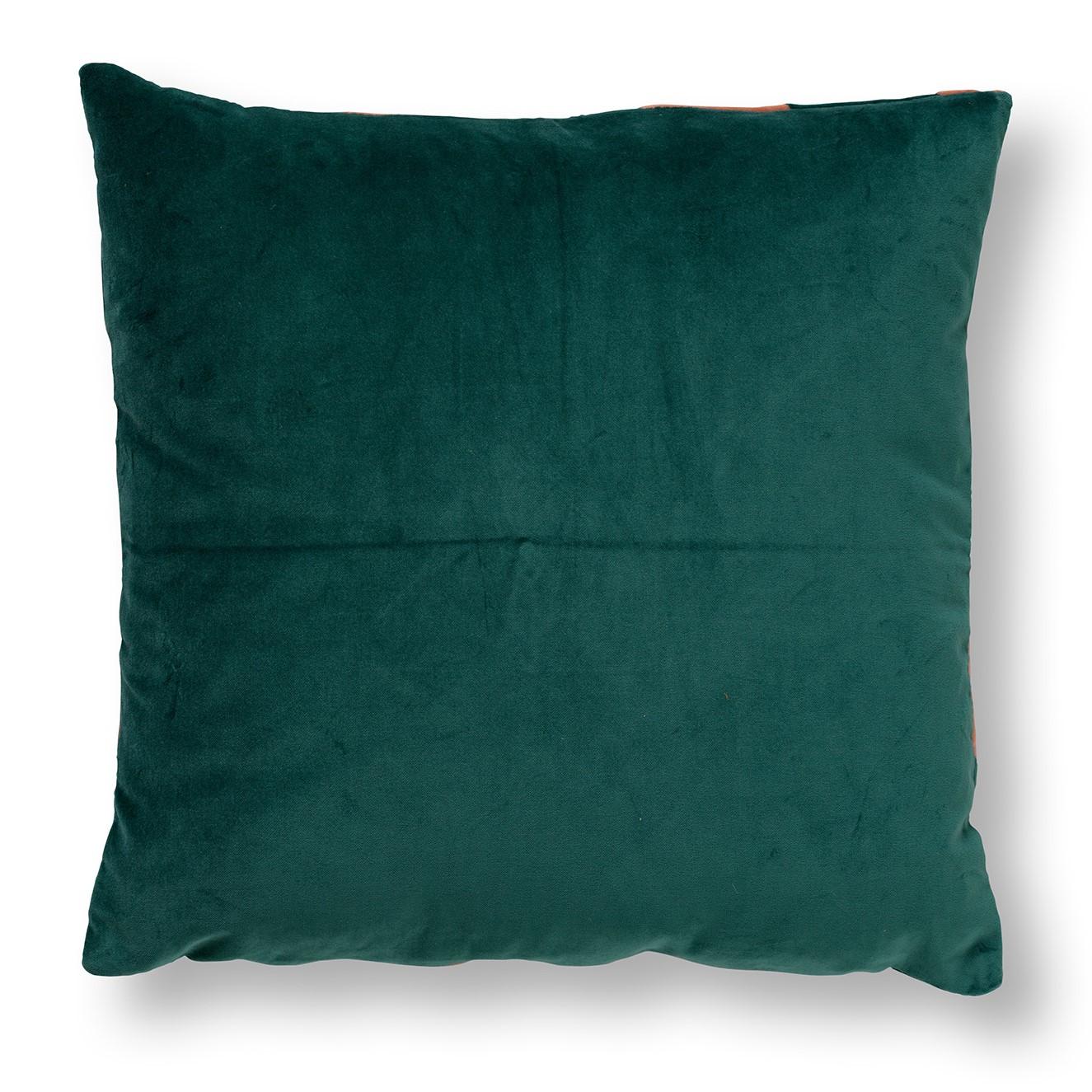 PEBBE - Sierkussen velvet Sagebrush Green 45x45 cm
