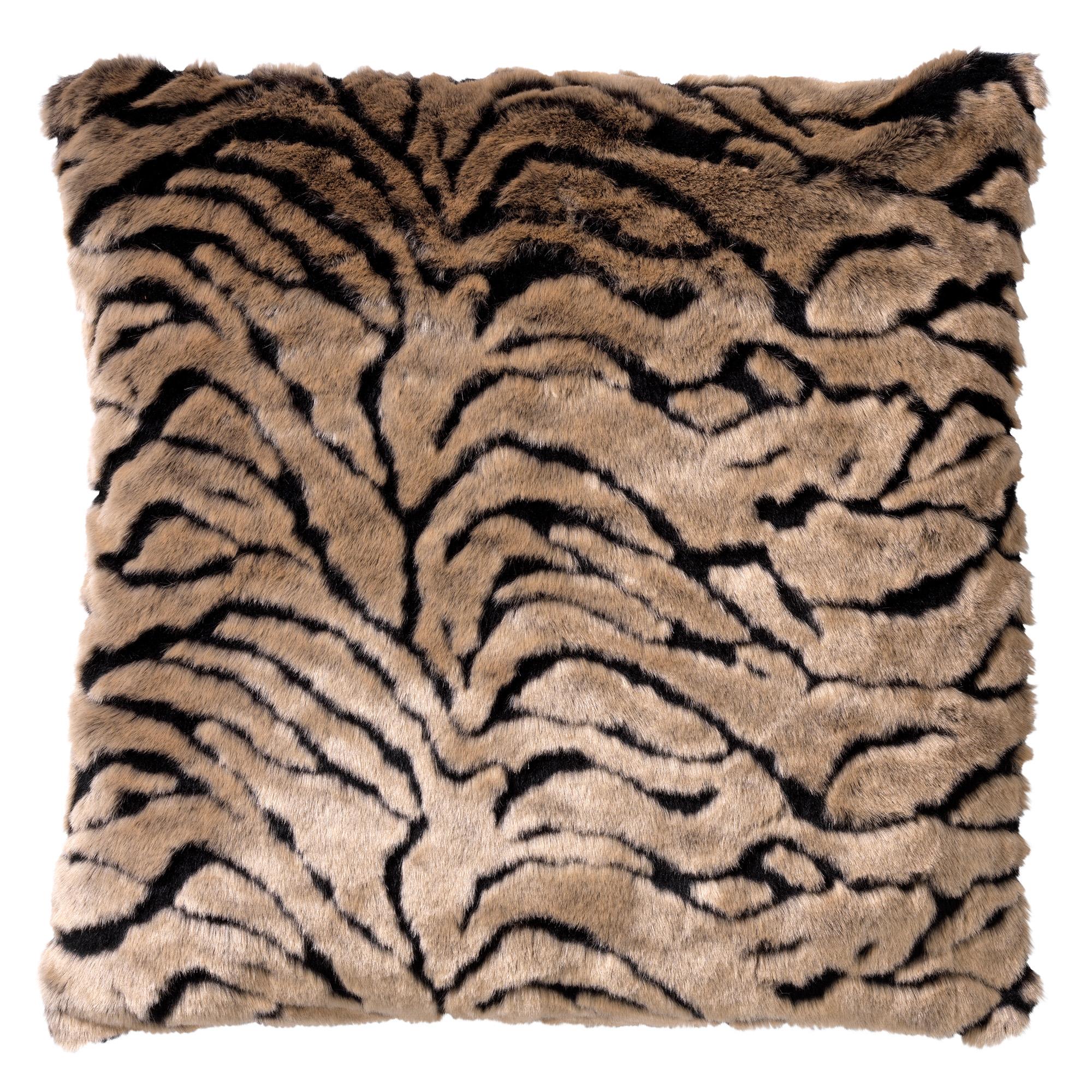 KENZO - Kussenhoes met dierenprint 45x45 cm Rocky Road