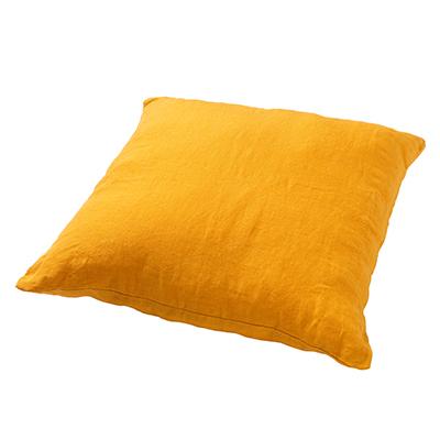 LINN - Sierkussen linnen Golden Glow 45x45 cm