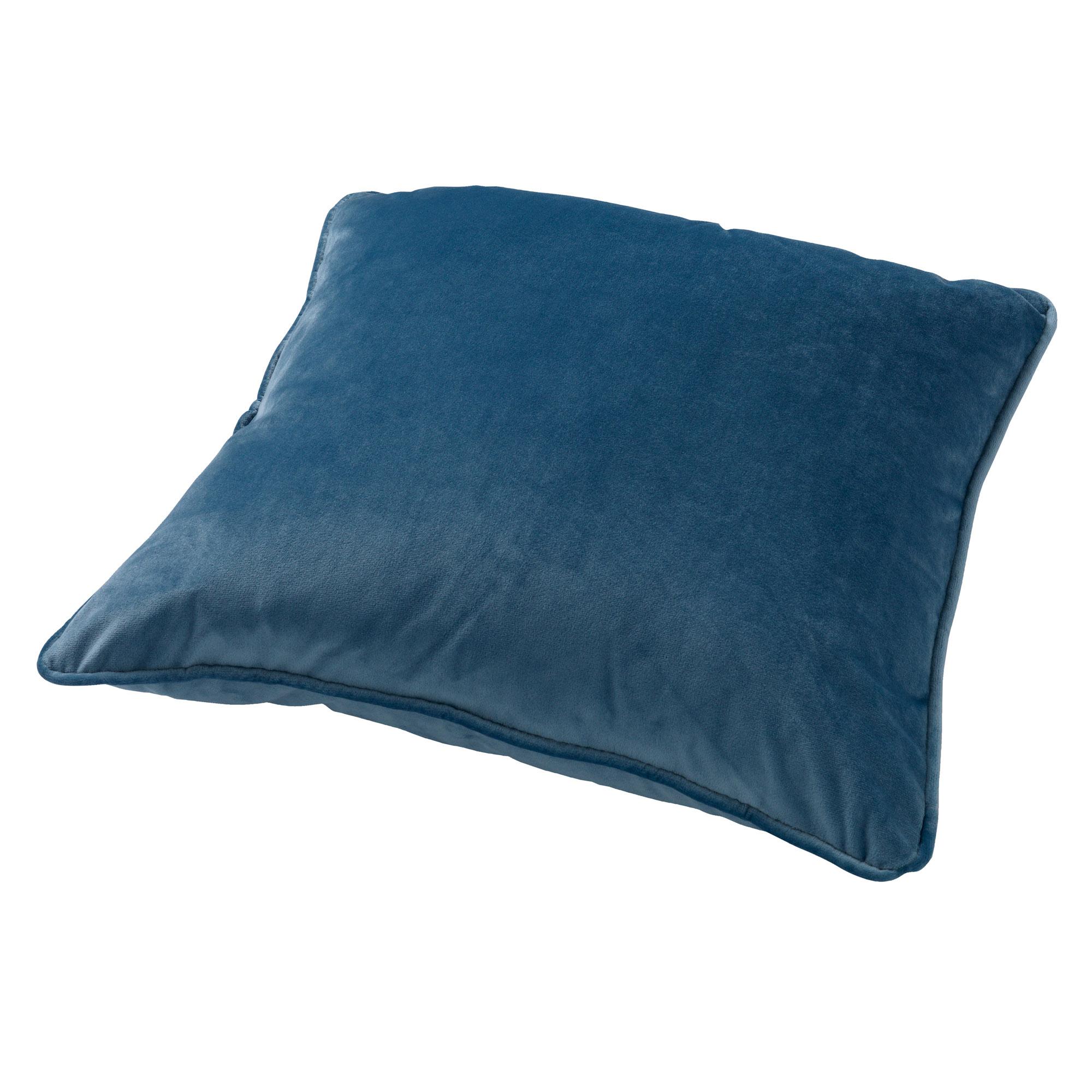 FINN - Sierkussen velvet Provincial Blue 60x60 cm