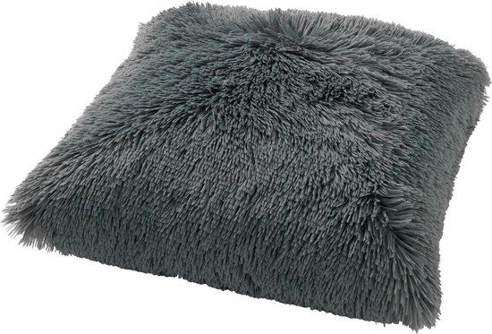 FLUFFY - Sierkussen unikleur Jadeite 60x60 cm