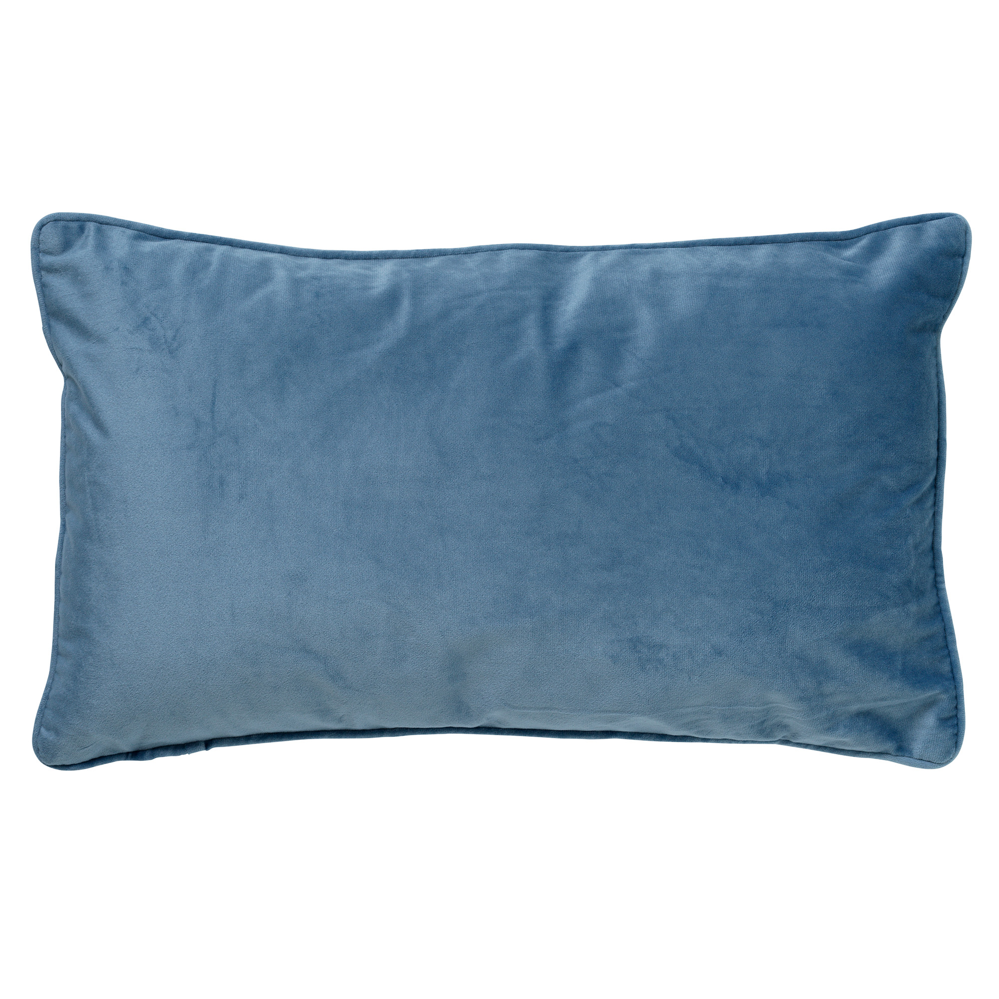 FINN - Sierkussen velvet Provincial Blue 30x50 cm