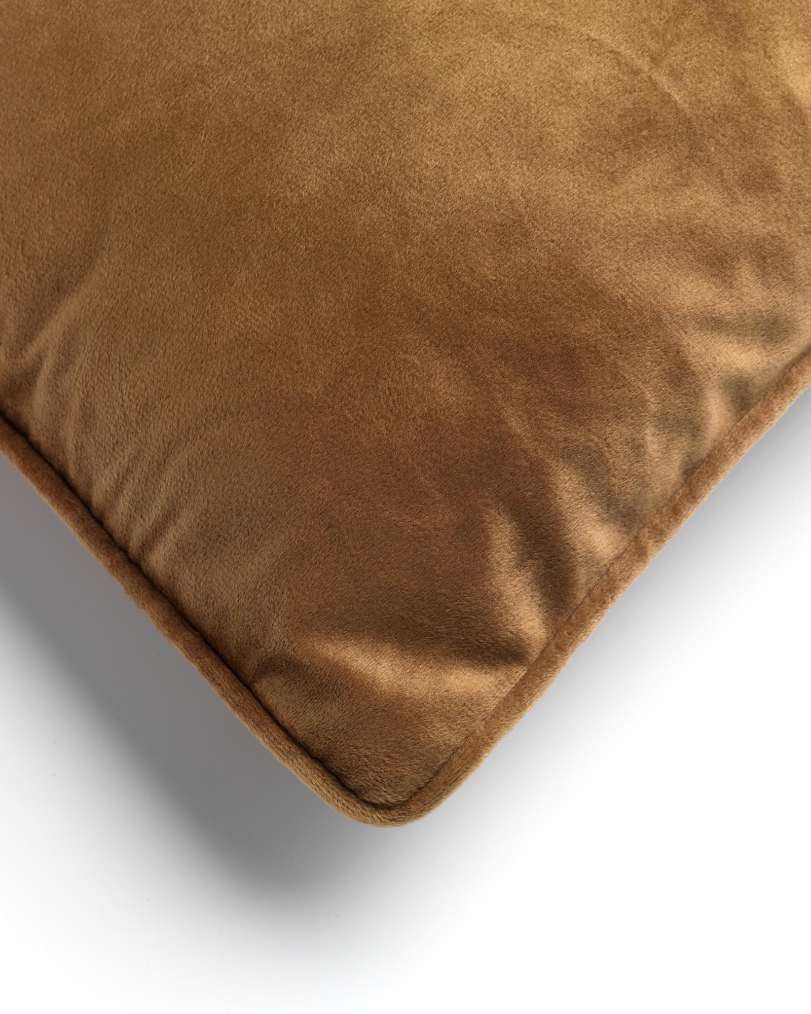 FINN - Sierkussen velvet Tobacco Brown 40x60 cm